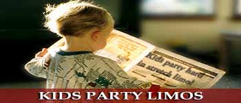 Limousines for kids parties + party transfers