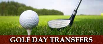 Golf & Race day limousine hire
