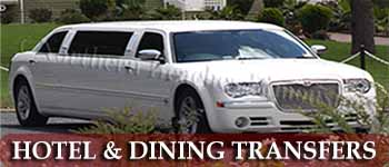 Limousines for restaurant & hotel transfers